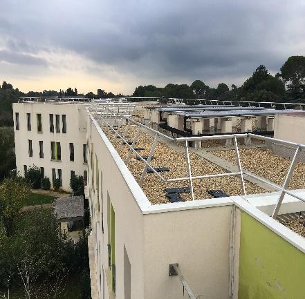 Sécurisation des toitures sur 3 EHPADS