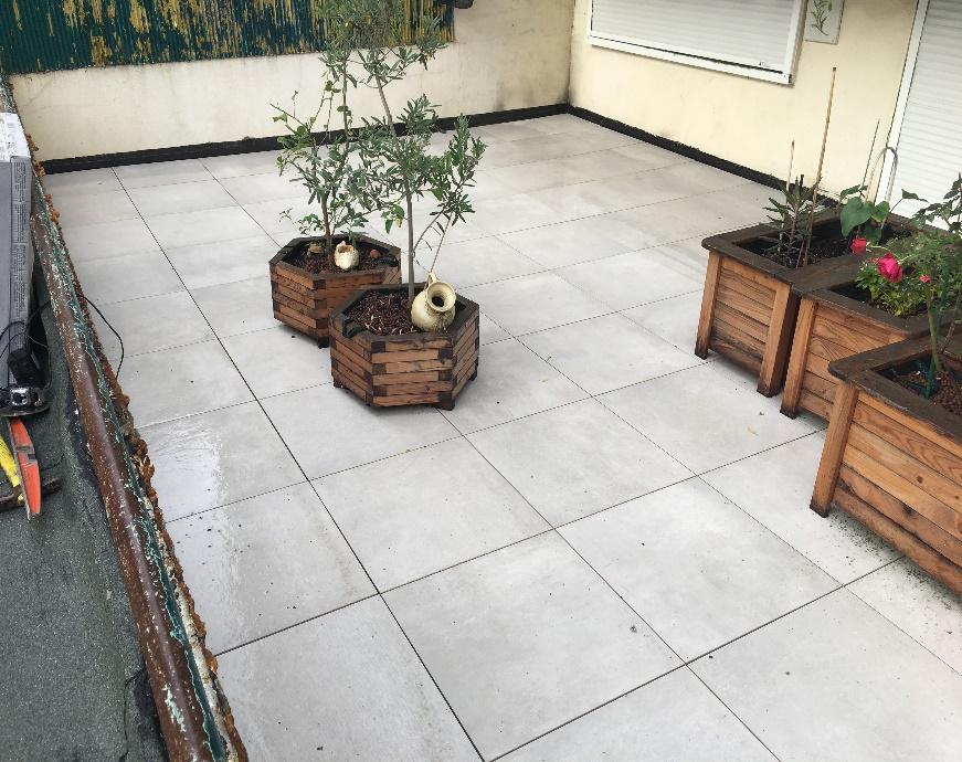 Réfection d'étanchéité des terrasses privatives du niveau 1