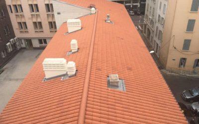 Hôtel de police de Toulon – Couverture tuile